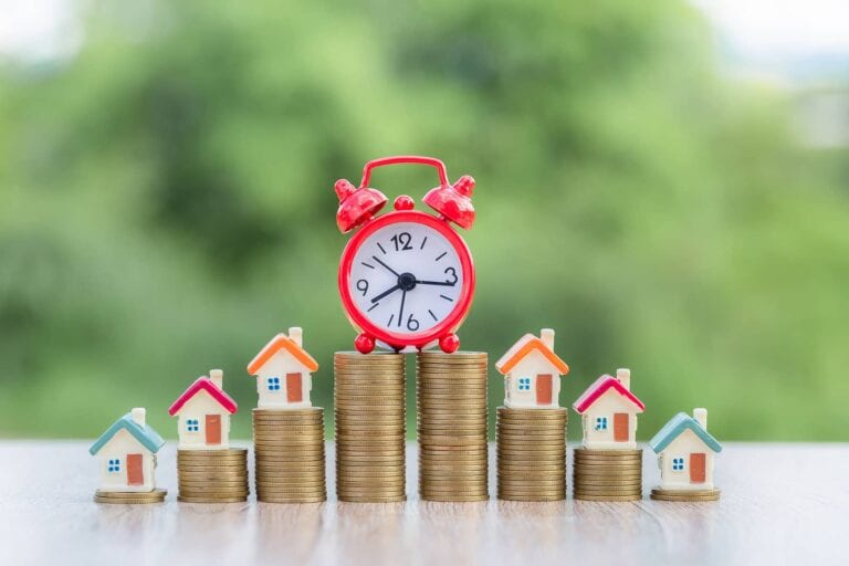 real estate appreciation depends on time