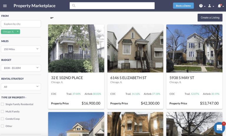 find distressed property in Mashvisor Property Marketplace
