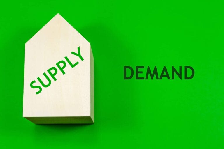 house prices and supply vs demand
