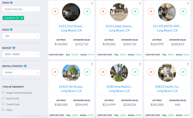 affordable Airbnb Long Beach properties