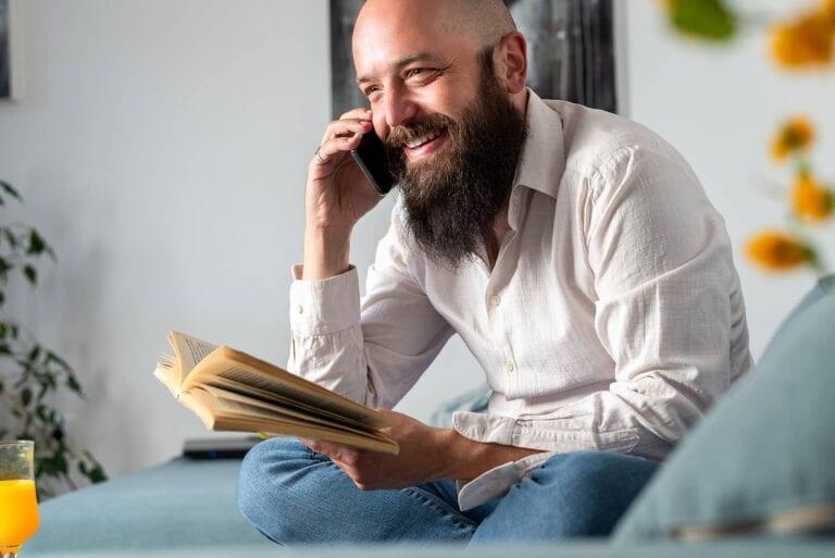 making calls to win a bidding war