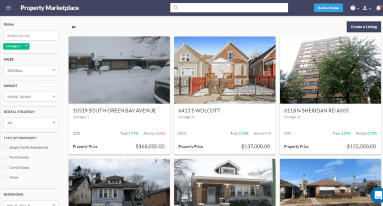 Finding Cash Flowing Properties with the Mashvisor Property Marketplace