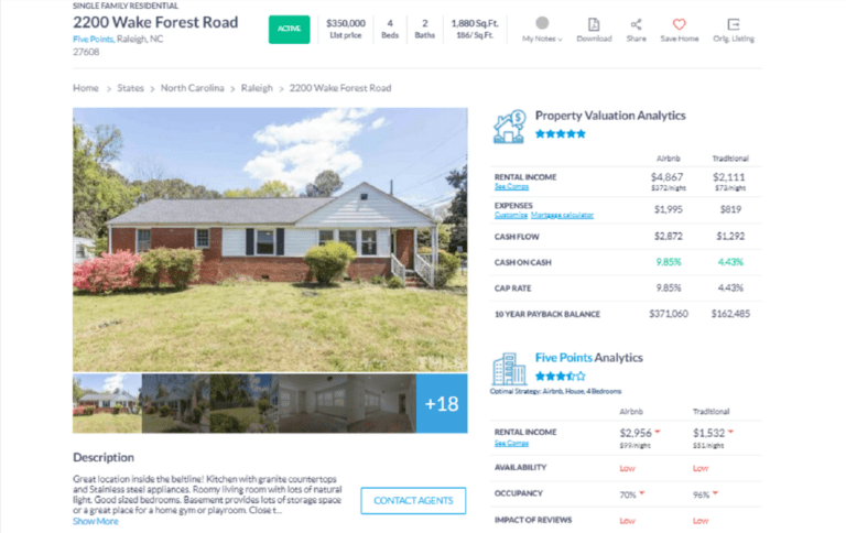 Finding Profitable Income Property for Sale with Investment Property Analysis Software