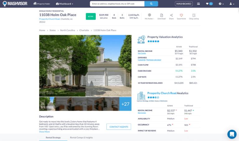 Real Estate Software for Investors: Property Description