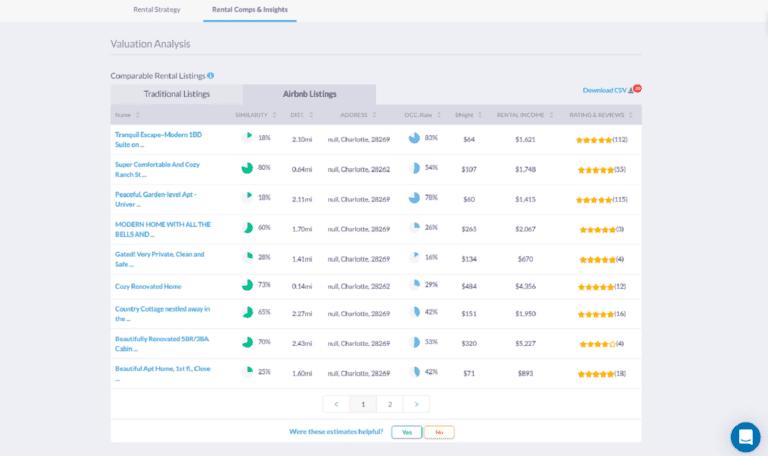 Real Estate Software for Investors: Rental Comps
