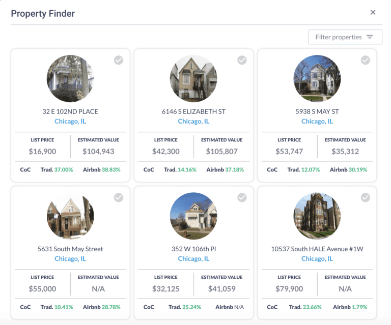 The Mashboard is a great way to get listings