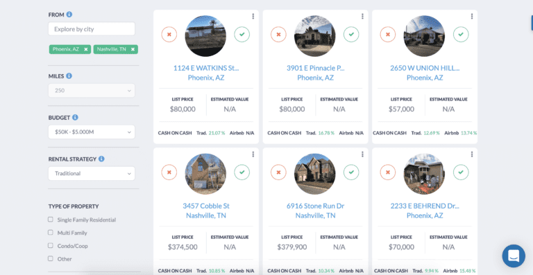 The Property Finder helps investors find profitable investments