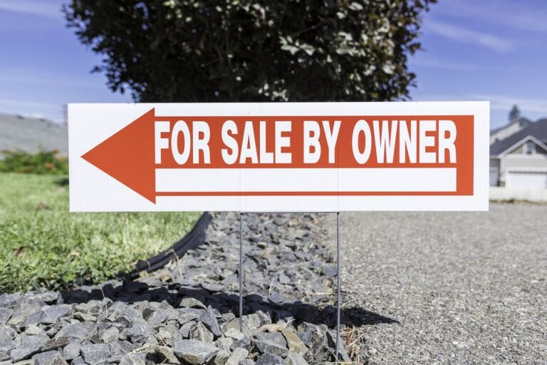 FSBO is an option when selling a house in California